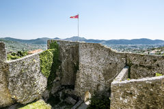 Fortress in the old town of Bar in Montenegro on a  summer day Royalty Free Stock Images