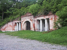 Fortress. One of the forts Modlin Fortress Stock Photography