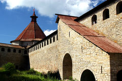Fortress Oreshek Shlisselburg stock photography