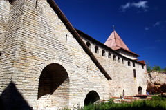 Fortress Oreshek Shlisselburg. Autotravel to north of Russia Stock Photo