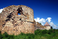 Fortress Oreshek Shlisselburg. Autotravel to north of Russia Royalty Free Stock Photography