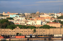 Fortress Osama and colonial quarter. Santo Domingo, Dominicana Royalty Free Stock Photos