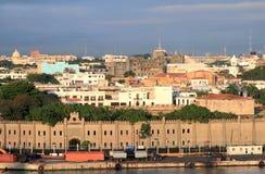 Fortress Osama and colonial quarter. Santo Domingo, Dominicana Royalty Free Stock Photos