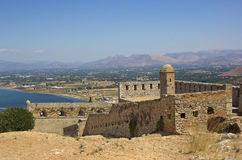 Fortress Palamidi Royalty Free Stock Photos
