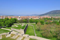 Fortress of Pamplona. Pamplona (Navarra,Spain) View of fortress of 16 century Stock Photo