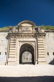 Fortress of pamplona entry Stock Photos