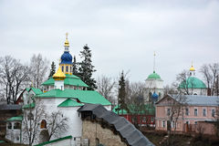 The fortress of the Pechorsky monastery Royalty Free Stock Photo