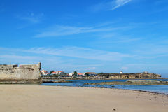 Fortress in Peniche Royalty Free Stock Images
