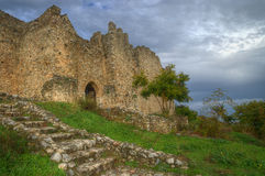 Fortress Platamona, Greece Royalty Free Stock Photography