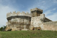 Fortress of Populonia Royalty Free Stock Photography