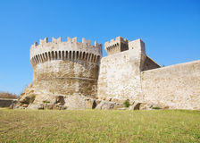 Fortress of Populonia Royalty Free Stock Photos
