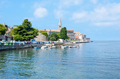 Fortress of Porec in historic center Royalty Free Stock Photography