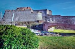 Fortress Priamar Stock Photo