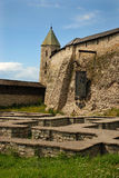 Fortress.Pskov. Fortress of an Old Russian city of Pskov, city it is located on the river Great Royalty Free Stock Images