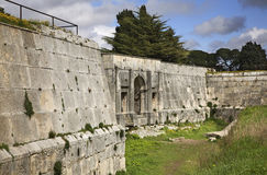 Fortress in Pula town. Croatia Stock Photo
