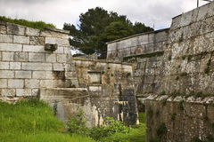 Fortress in Pula town. Croatia Royalty Free Stock Photography