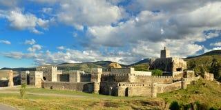 Fortress Rabat in Akhaltsikhe, Georgia. View of Rabati castles, fortress in Akhaltsikhe, Georgia stock photography