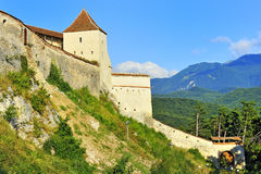 Fortress rasnov Stock Images