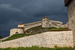 Fortress of Rasnov Stock Photography