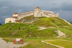 Fortress of Rasnov royalty free stock photography