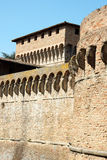 Fortress of Ravaldino in Forlì, Italy Stock Photography