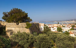 The Fortress in Rethymno Stock Image