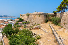 Fortress of Rethymno. Crete, Greece Stock Photography