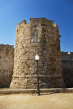 Fortress of Rhodes Royalty Free Stock Photography