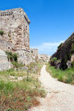 Fortress in Rhodes Stock Image