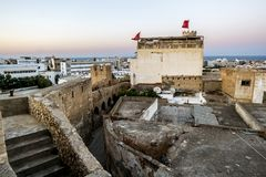 Fortress Ribat in Medina Sousse Stock Photo