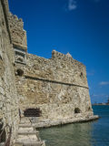 Fortress of Rocca al Mare in Heraklion, Crete, Greece Royalty Free Stock Photo