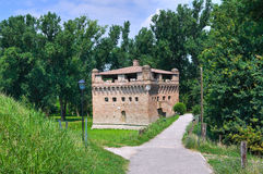 Fortress Rocca Stellata. Bondeno. Emilia-Romagna. Italy. Royalty Free Stock Image