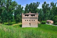 Fortress Rocca Stellata. Bondeno. Emilia-Romagna. Italy. Stock Images