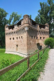 Fortress Rocca Stellata. Bondeno. Emilia-Romagna. Italy. Royalty Free Stock Photography