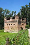 Fortress Rocca Stellata. Bondeno. Emilia-Romagna. Italy. Stock Photography