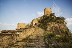 Fortress on the rock Stock Photography