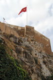 Fortress in Urfa. Fortress on the rock in Urfa, Turkey Royalty Free Stock Photography