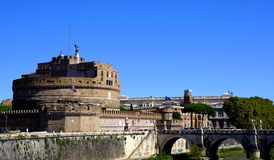 Fortress in Rome Royalty Free Stock Photo