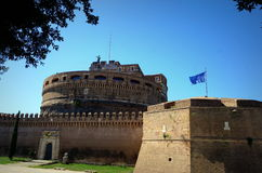 Fortress in Rome Royalty Free Stock Photos
