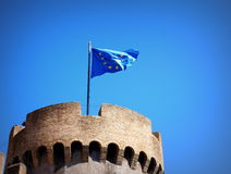 Fortress in Rome Royalty Free Stock Photography
