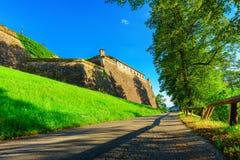 Fortress Rosenberg - Kronach. Fortress Rosenberg in Kronach, German royalty free stock image