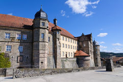 Fortress Rosenberg in Kronach, Germany Stock Image