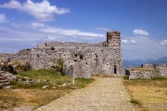 Fortress Rozafa, Shkodra, Albania Royalty Free Stock Photography