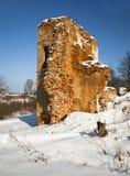 Fortress ruins Royalty Free Stock Photo