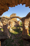 Fortress ruins. Ruins of the ancient fortress located in the village of Golshany, Belarus Stock Photo