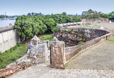Fortress Ruins at Dominican Republic Stock Photography