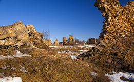 Fortress ruins Stock Images