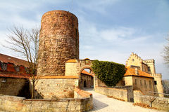 The Fortress Saaleck Royalty Free Stock Image
