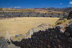 Fortress of Sacsayhuaman Stock Photography
