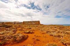 Fortress Sagres Stock Photo